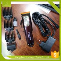Buy cheap PF-805 High Quality Li ion Battery 150 Minutes Oparation Cordless Hair Clipper Rechargeable Barber Trimmer from wholesalers
