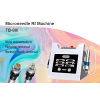 Buy cheap 2Mhz 49 Pins Microneedle Radio Frequency Skin Rejuvenation Machine / Acne Treatment Equipment from wholesalers