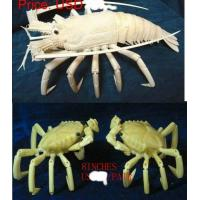 Buy cheap bone lobster and bone crabs carving from wholesalers