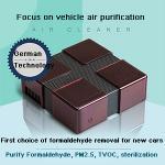 Buy cheap Dust Smoke Collector Mini Smart 6 CFM HEPA Filter Car Air Purifier Coronavirus Prevention from wholesalers
