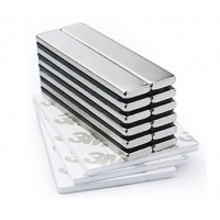 Buy cheap Rare Earth Big Size Neodymium Bar Magnets Nickel Coating High Remanence from wholesalers