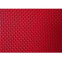 Buy cheap Supply 2x2 wire woven outdoor PVC coated mesh fabric for beach chair or outdoor furniture texliene cloth from wholesalers
