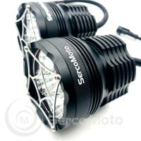 Buy cheap Waterproof IP67 50w LED lights motor ,offroad led driving light, led motorcycle light,spot beam 5LEDS 50W, CREE lamps from wholesalers