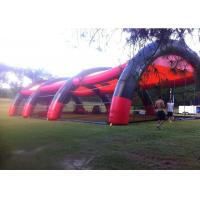 Buy cheap Light Paintball Air Inflatable Event Tent With PVC Tarpualin Material from wholesalers