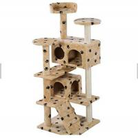 Buy cheap Professional Manufacturer Wholesale Pet Cat Toys Castle Cat Tree House Products from wholesalers