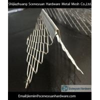 Buy cheap galvanized expanded  angle bead from wholesalers