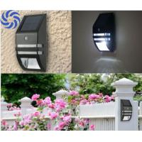 Buy cheap Metal Black Finish Solar Security Sensor Light Quick Installation For Home Decor from wholesalers