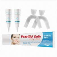 Buy cheap Tooth Bleaching Kit with Tube Whitening Gel and Mouth Tray Case from wholesalers
