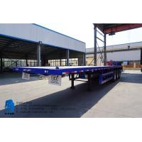 Buy cheap 3 axle 60 ton 40 ft  container flatbed trailer for sale | TITAN VEHICLE from wholesalers