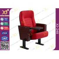 Buy cheap Powder Coating Finish Legs Auditorium Theater Seating Furniture With Tablet from wholesalers