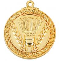 Buy cheap 6.5 x 0.3 cm, zinc alloy, gold medal prize from wholesalers