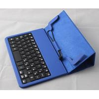 Buy cheap Wired plug / play Portable 8 Inch Tablet Keyboard Case of PU leather product