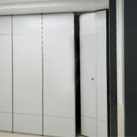 Buy cheap Multi Color Melamine Surface Sliding Wall Wheels Office Soundproof Conference Room Partition from wholesalers