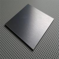 Buy cheap China supplier of Stainless steel sheet grade AISI 430 304 surface Satin or NO.4 finish with laser cut pvc film from wholesalers