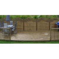 Buy cheap WPC Plastic Base Deck Tile from wholesalers