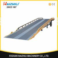 Buy cheap 10 ton heavy duty truck container mobile loading ramp with cheap price from wholesalers