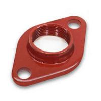 Buy cheap Steel Precision Investment Castings Pump Body Flange Water Pump Port Adapter Flange from wholesalers