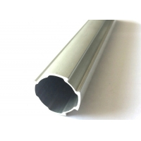 Buy cheap Linear Slide D28mm Aluminum Lean Tube with Flat Side Aluminum Modular Standard Coated Pipe from wholesalers