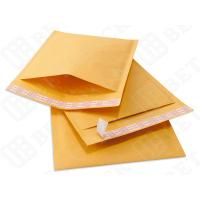Buy cheap High Slip Kraft Bubble Mailer , Cushioned Postage Mailing Bags 7.25*11 from Wholesalers