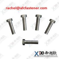Buy cheap c-276 china screw manufacturer hex bolt full thread asme b18.2.1 bolt and nut from wholesalers