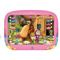 Buy cheap 3D Russian languagechildren's Tablet Toys Masha&Bear Electronic kids Toys Learning from wholesalers