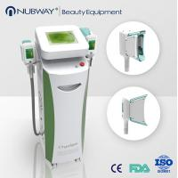 Buy cheap Advanced design Cool Therapy Lipo Cryo Fat Freezing Machine for unwanted fat remove from wholesalers
