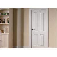 Buy cheap Commercial OAK Solid Wood Composite Doors , Single Swing Shower Door from wholesalers