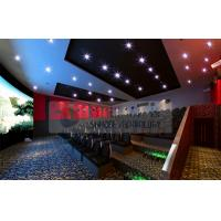Buy cheap Thrilling 6D Movie Theater , 6D Motion Simulators Experience With 3d Glasses product