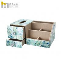 Buy cheap Sturdy frame  mirrored glass makeup organiser With partition / drawer from wholesalers