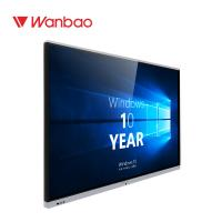 Buy cheap 4K Touch Screen Wall Mounted Interactive Whiteboard For Classroom from wholesalers