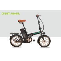 Buy cheap 250W Folding Electric Bike / Bicycle , Electric Beach Bike 36v 10ah Battery from wholesalers