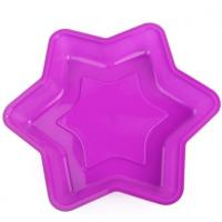 Buy cheap Food Grade Silicone Baking Tray , Silicone Bakeware Molds Hexagram Custom Design from wholesalers
