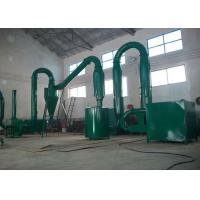 Buy cheap Energy Saving Hot Airflow Wood Sawdust Flash Dryer Machine 400 - 500 kg / H from wholesalers