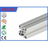 Buy cheap Aluminum T - Slotted Framing System 40 X 40 Mm , 2 Mm Wall Thick Aluminium Extrusion Accessories from wholesalers