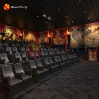 Buy cheap movie Power 3 Dof Immersive Motion Simulator Horror Movies 4d 5d Cinema Theater System from wholesalers