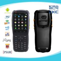 Buy cheap 3.5 inch android handheld barcode scanner rugged pda with 3g wifi nfc/rfid from wholesalers