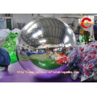 Buy cheap Silver Nylon Cloth Inflatable Advertising Balloons For Interior / Exterior Decoration from wholesalers