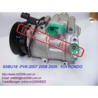 Buy cheap Auto Compressor 10986SC for KIA RONDO 2007-2009/KIA CARENS 2.0 OEM#977011D200 from wholesalers