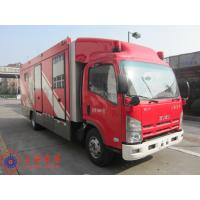 Buy cheap Max Speed 90KM/H Fire Pumper Truck , 4x2 Drive Type Gas Supply Firefighter Truck from wholesalers