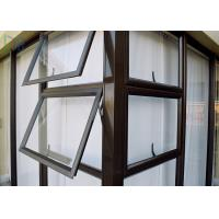 Buy cheap Multi Color Aluminium Awning Windows Series 50 Fixed Aluminium Top Hung Windows product