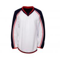 Buy cheap Wholesale quality fashion Latest Design hong kong children breathable hockey jersey-6391 from wholesalers