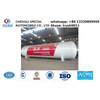 factory sale 120,000L 50ton lpg gas storage propane tank, hot sale bullet type bulk surface lpg gas storage tank