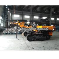 Buy cheap Diesel rotary hydraulic drilling rig piling machine Hole diameter 80 -115mm from wholesalers