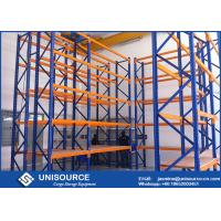 Buy cheap Multi - Level Industrial Shelving Unit , Medium Duty Metal Shelving For Garage from wholesalers