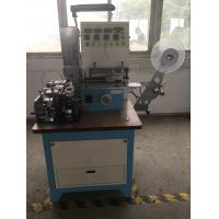 Automatic High Speed Ultrasonic Automatic Labeling Machine For Ribbon , Belt Cutting