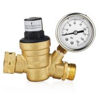 Buy cheap Low Pressure Oxygen Concentrator Parts Water Adjustable Brass Pressure Adjust Valve from wholesalers