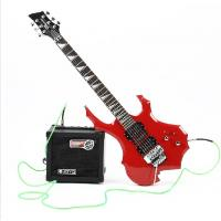 Buy cheap flame electric guitar, double wave electric guitar from wholesalers