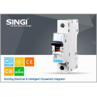 Buy cheap SINGI SC65 63A one phase 400V mini circuit breaker(MCB) A grade LEG. mcb from wholesalers