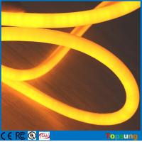 Buy cheap 12V flexible neon led light IP67 360 degree round rope Christmas light yellow from wholesalers