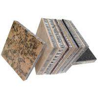 Buy cheap honeycomb stone panel,stone honeycomb panel,curtain wall stone panel, cladding stone panel,lightweight stone panel from wholesalers